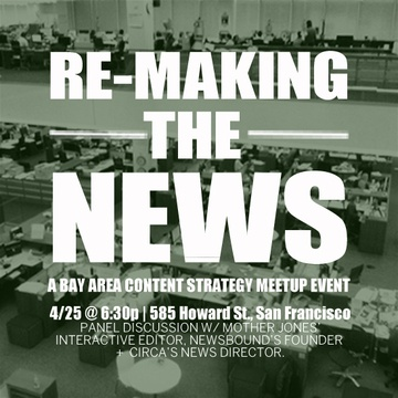 Re-making the News: A Panel Discussion